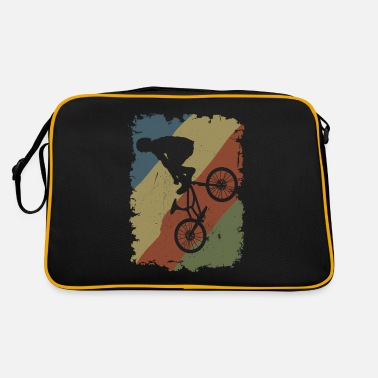 Cycling BMX Freestyle Vintage Rider Stunt - Retro Bag