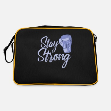 Boxer Boxen Stay Strong - Retrotasche