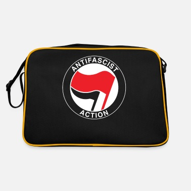 Antifascist Antifascist flag antifa - antiracism antifascist - Retro Bag