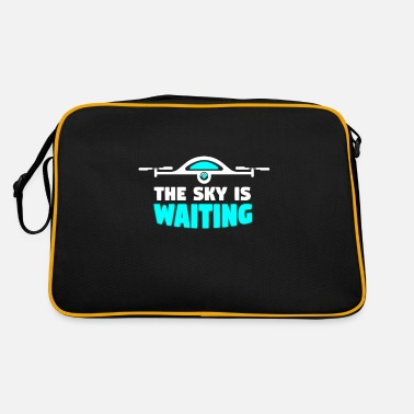 Model Sky is waiting - drone, quadrocopter - Retro Bag