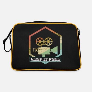 Glamour Funny Keep It Real Filmmakers Film Lovers Gift - Retro Bag