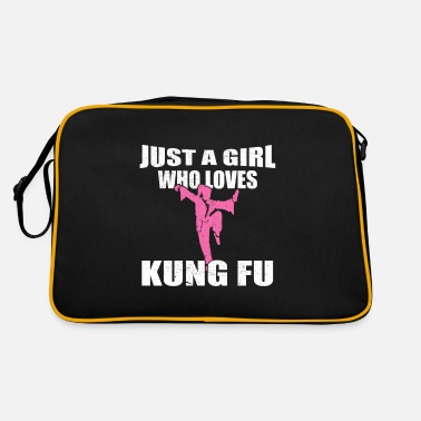 Kung Just A Girl Who Loves Kung Fu MMA cadeau - Retrotas