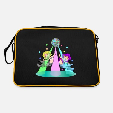 DANCING MERMAIDS - Retro Bag