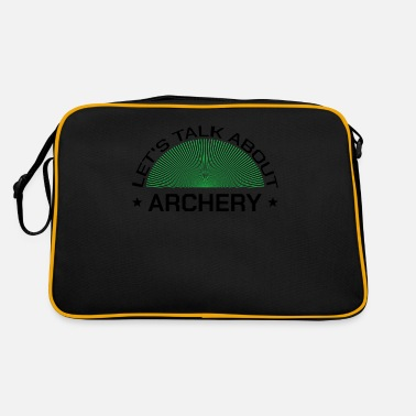 Arrow Archery archer shooting sport sayings - Retro Bag