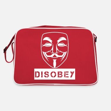 Guy Fawkes Disobey - Retro Bag