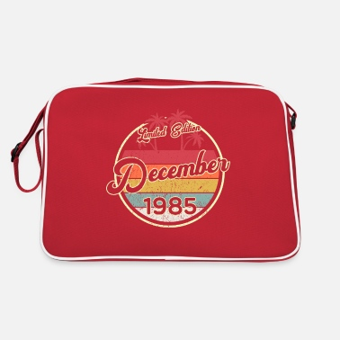 Awesome Since Vintage 35th Birthday December 1985 Sports Gift - Retro Bag