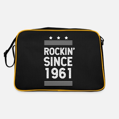 Madurar Regalo para 59 años: Classic Rock 1961 59th Birth - Bolsa retro