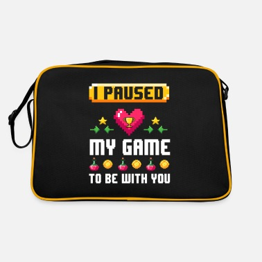 I Pausd My Game To Be with You - Retrotasche