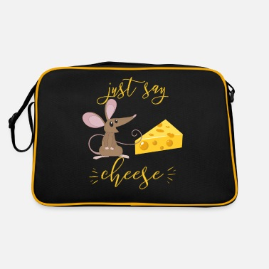 Just Say Cheese For Kids The Mouse Loves Cheese I - Retro Bag