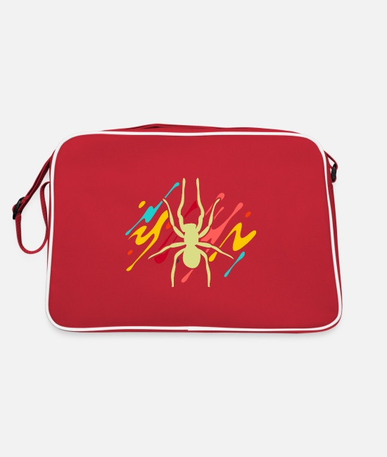Nature Bags & Backpacks - spider - Retro Bag red/white