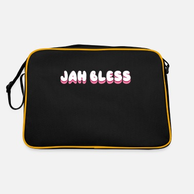 Bless You Jah Bless God bless you God bless you Israelites - Retro Bag