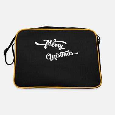 Trendy Merry Christmas - Retro Bag