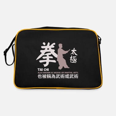 Tai Chi Tai Chi china sport aka Wushu Martial Arts - Retrotasche