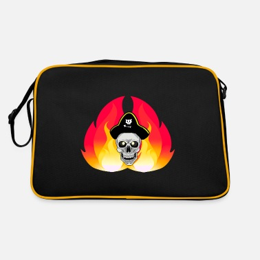 Buccaneer Fantasy pirate skull buccaneer - Retro Bag