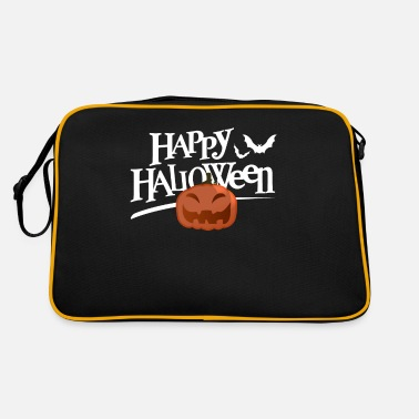 Presente-gift Happy Halloween Gift Presente Idea Divertido - Bolsa retro