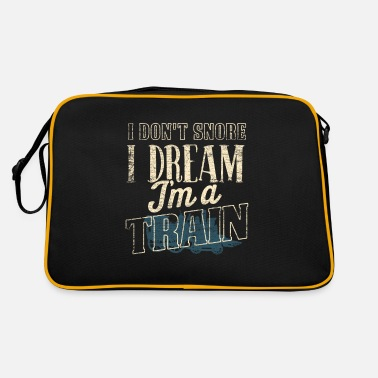 Training Train trains - Retro Bag