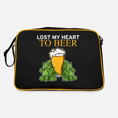 Wheat Lost My Heart To Beer Valentine's Day Beer - Retro Bag