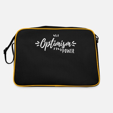 Optimism optimism - Retro Bag