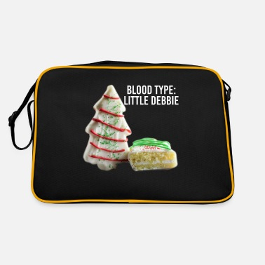 Bowling Blood Type Little Debbie Chocolate Cupcakes Funny - Retro Bag