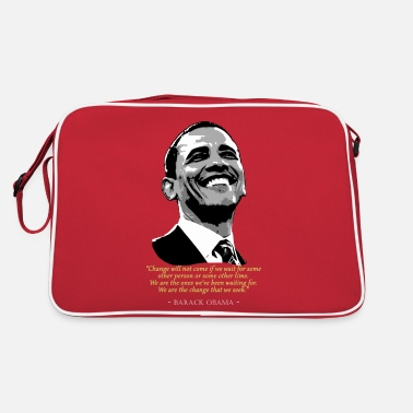 Pop Citation de Barack Obama - Sac vintage