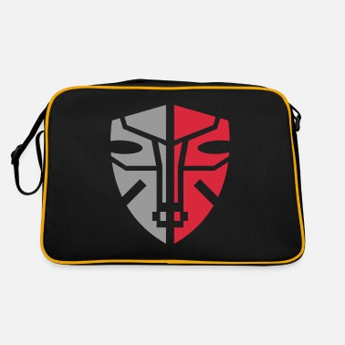 Graphic Art Mask Graphic Art - Retro Bag