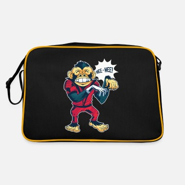 Lustiger Space Monkey - Retrotasche