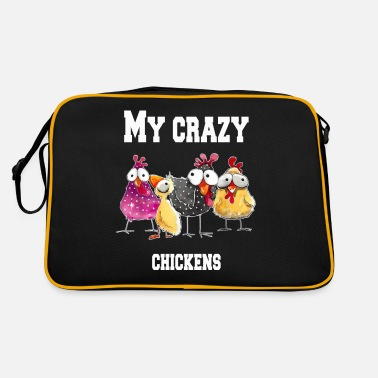 Easy My crazy chickens - Retro Bag