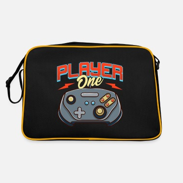 Video Game Players Controller One Video Game Player - Retro Bag