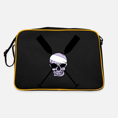 Boat Deathhead Paddle Rowing Canoe Dragonboat - Retro Bag