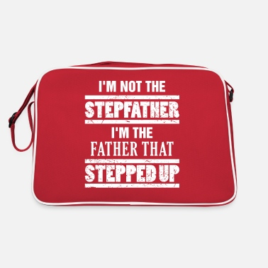 Up Stepdad The Dad That Stepped Up Gift Fathers Day S - Retro Bag