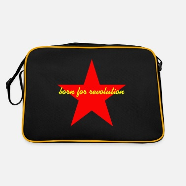 Revolution born for revolution stern - Retro Bag