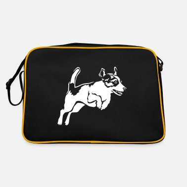 Jack Russell Terrier Black Edition - Retrotasche
