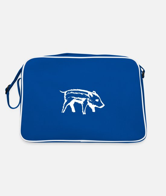 BBQ Bags & Backpacks - Piglet | piggy - Retro Bag blue/white