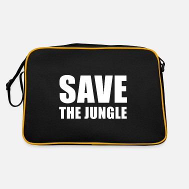 The jungle Phrases nature - Retro Bag