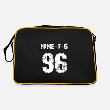 Number 96 Sport Fan or 96th Birthday Jersey 1996 - Retro Bag