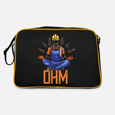 Brillant Ohm méditant construction d'électricien - Sac vintage