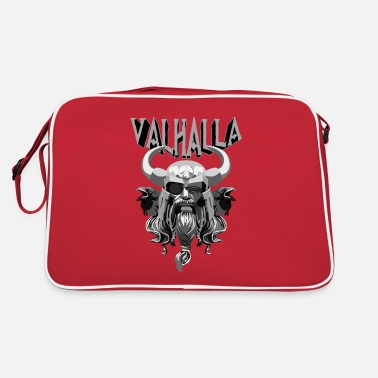 Vikings Valhalla Odin gift - Retro Bag