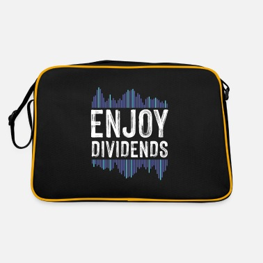 Christmas Market Enjoy Dividend Money Stocks Investor Gift - Retro Bag