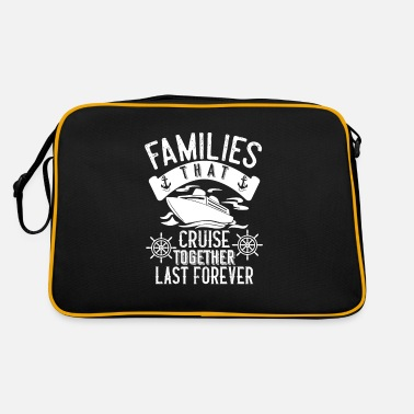 Familie That Cruise Together Last Forever Urlaub - Retrotasche