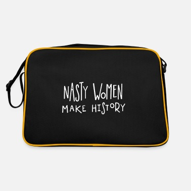 Siblings nasty women - Retro Bag