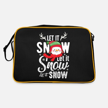 Let It Snow Let it snow Let it snow - Retro Bag