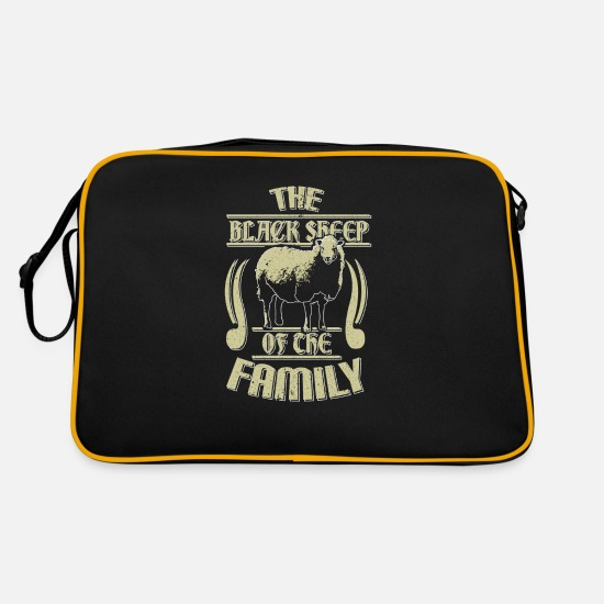 Gift Idea Bags & Backpacks - Pet saying - Retro Bag black/gold