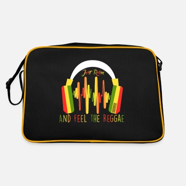 Just Reggae just relax AND FEEL THE REGGAE - Retro Bag