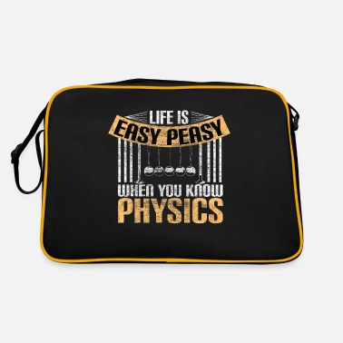 Mathematics Physics professor university gift idea - Retro Bag