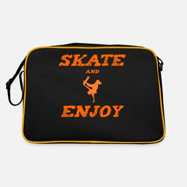 Contest Skateboard - Skater - Skate and Enjoy orange - Retrotasche