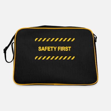 Safety Safety First - Retrotasche