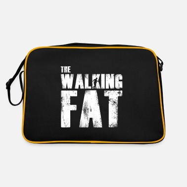 Fat Fat fat gift for fat - Retro Bag