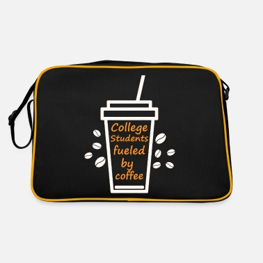 Fraternity Student College University fraternity - Retro Bag