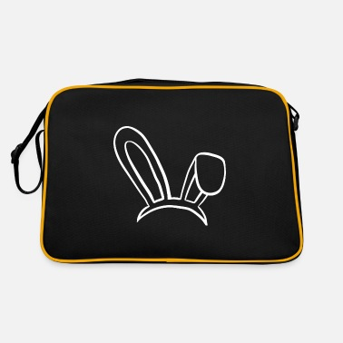 Rabbit Ears Rabbit rabbit ears rabbit - Retro Bag