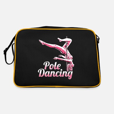 Pole Dance Pole Dancing Dancing Sport Fitness Gym Training - Borsa retrò